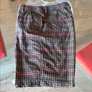 Lululemon men's Shorts 34x10.5 Checkered pattern